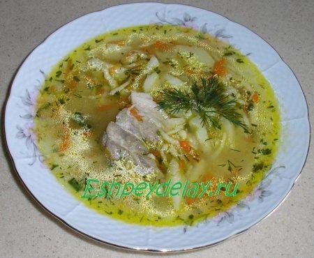Крестьянский суп затируха