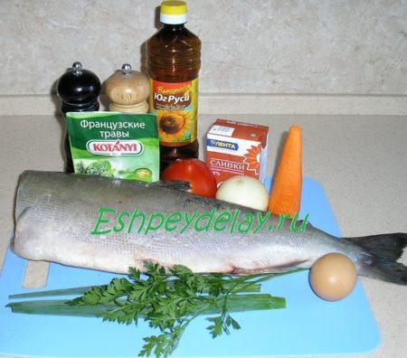рецепт голец в духовке