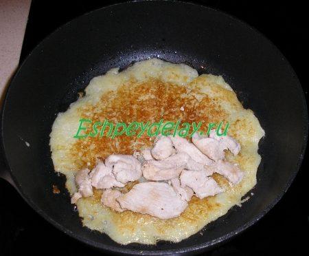 Драники с курицей рецепт
