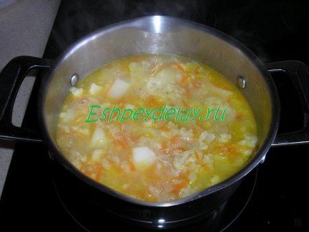 Варим суп 5 минут