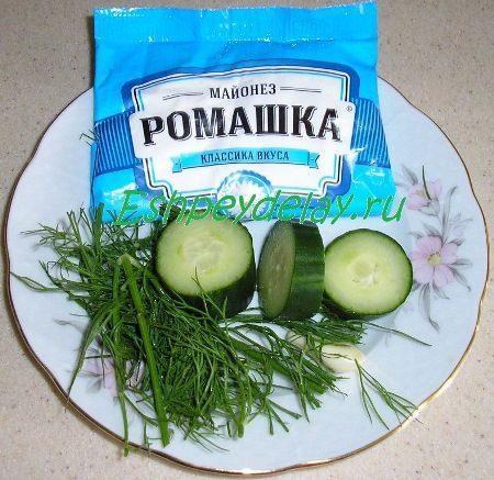 Ингредиенты на соус