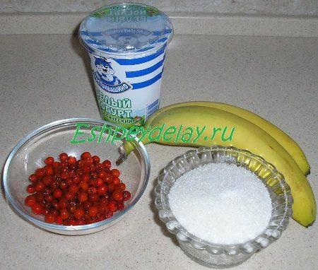 Рецепт десерта из рябины