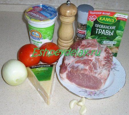 Рецепт эскалопа из свинины