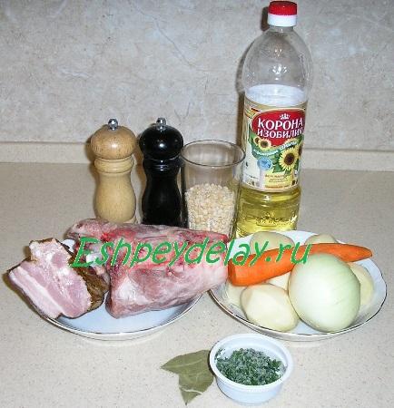 Рецепт горохового супа с копчёностями