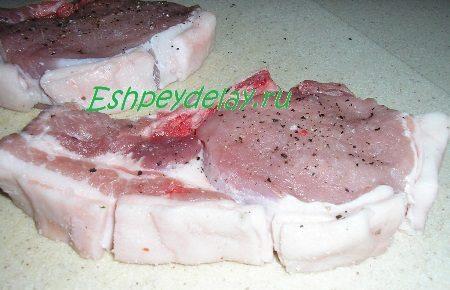 Рассечённое до мяса сало