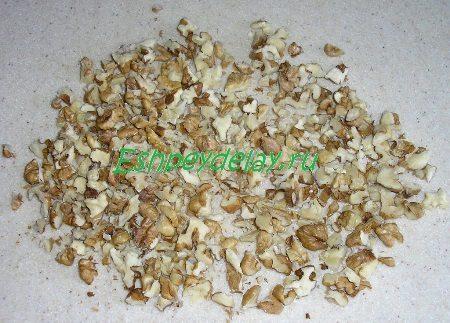 Покрошенные грецкие орехи
