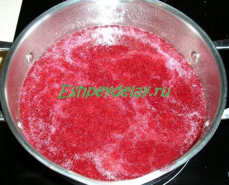 Сироп с соком смородины