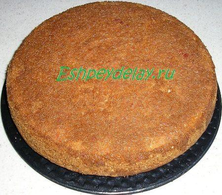 Пирог на пропитке
