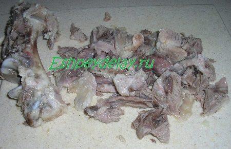 Обрезанное с кости мясо