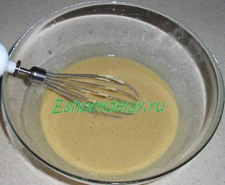 Яично масляная смесь с мёдом