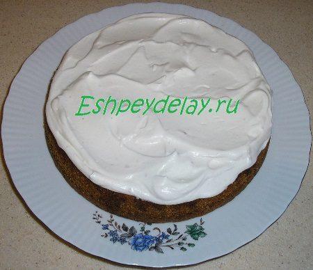Пирог со сливками