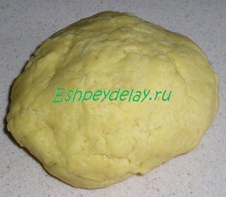 Тесто для коржей