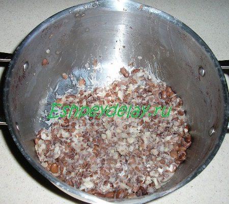 Растолчённая фасоль
