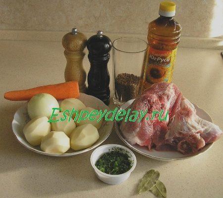 Рецепт гречневого супа со свининой