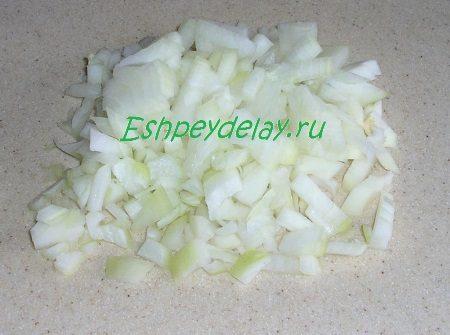 Порезанная луковица