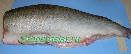 Рыба посолённая