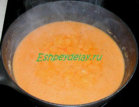 Соус для обжаренной печени