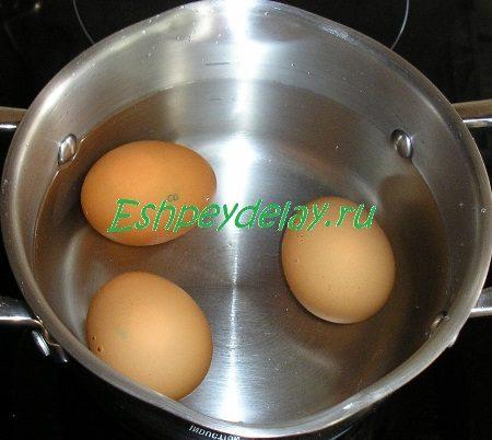 Отвариваемые яйца