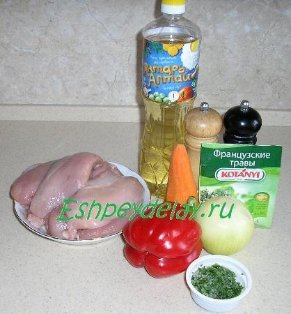 Рецепт приготовления куриных рулетиков с начинкой