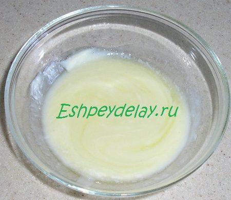 Растопленное масло