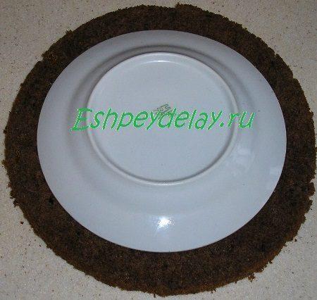 Тарелка на бисквите