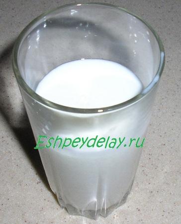 Кефир с содой