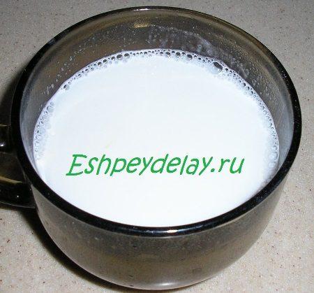 Разведённое кокосовое молоко