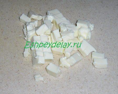 Порезанный плавленый сыр