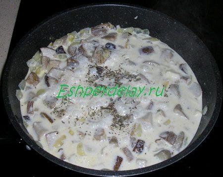 Сливочный соус с прованскими травами