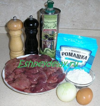 Рецепт оладьей из куриной печени
