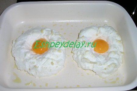 Желтки добавленные к белкам