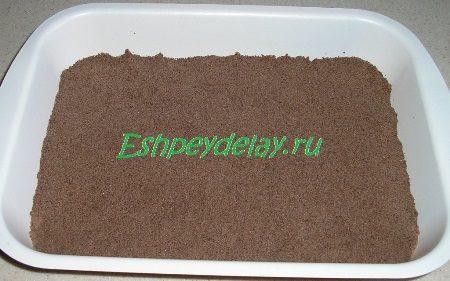 Песочное тесто с какао