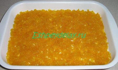 Начинка из тыквы с апельсином