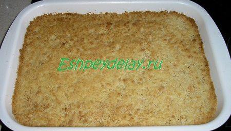Готовое печенье с творожной начинкой