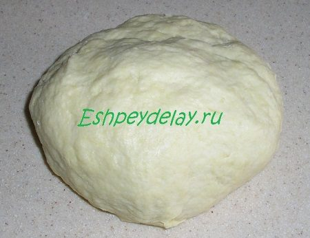 Готовое тесто для ореховых трубочек