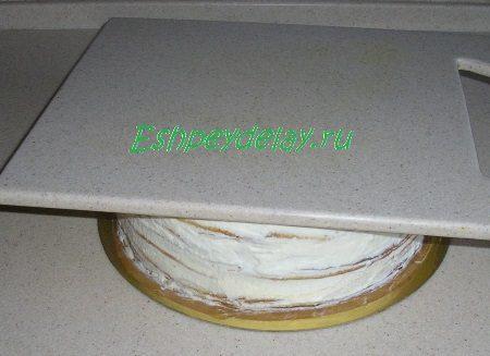 Торт с грузом