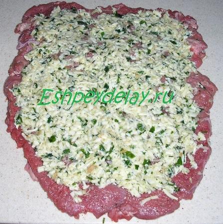 Начинка на мясе