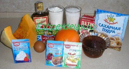 Рецепт торта Медовая тыква