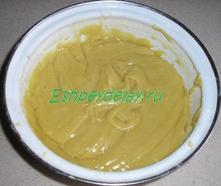 Тесто для медовых коржей