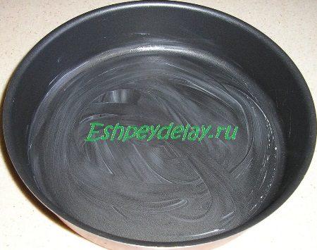 Смазанная маслом форма