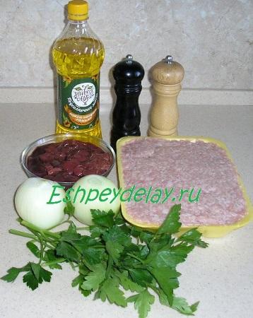 Рецепт котлеты исетские