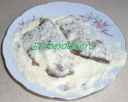 Печень в кукурузной муке