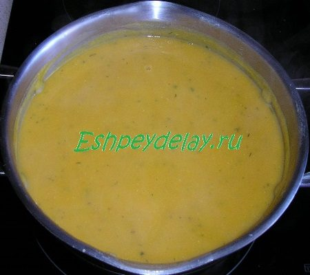 Готовый суп - пюре