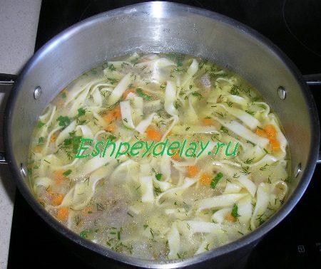 Готовый суп из конины