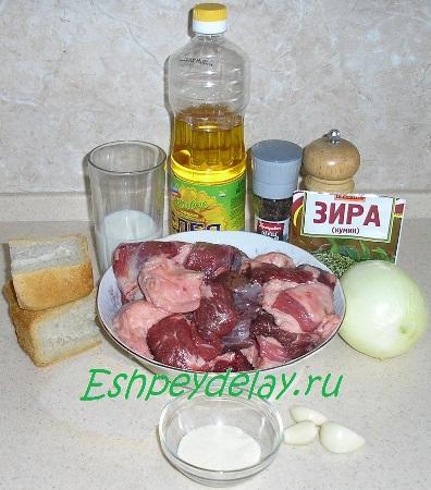 Рецепт котлет из конины