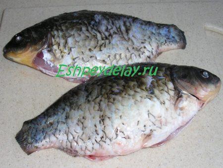 Почищенная рыба