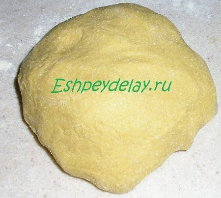 Гороховое тесто