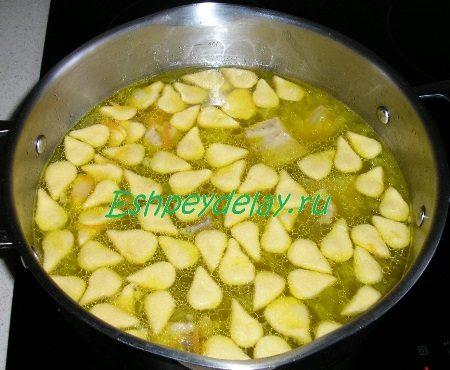 Салма добавленная в суп