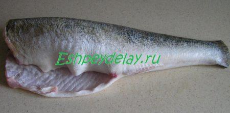 Обработанная рыба