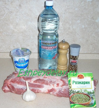 Рецепт свиной шеи запеченной в духовке